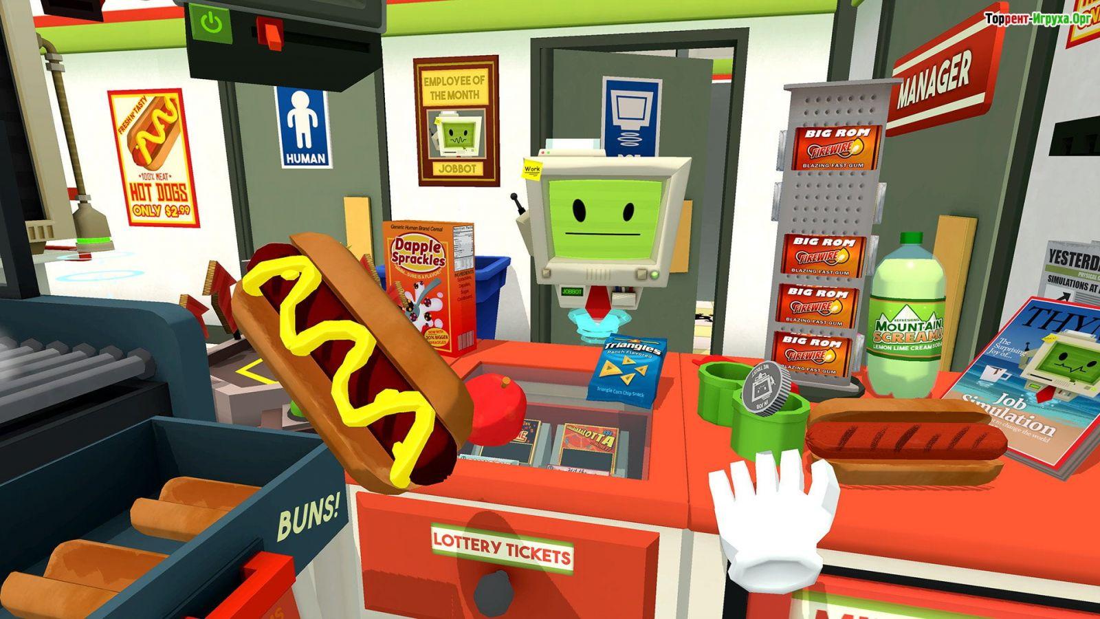 Задания игроку даёт робот-помощник