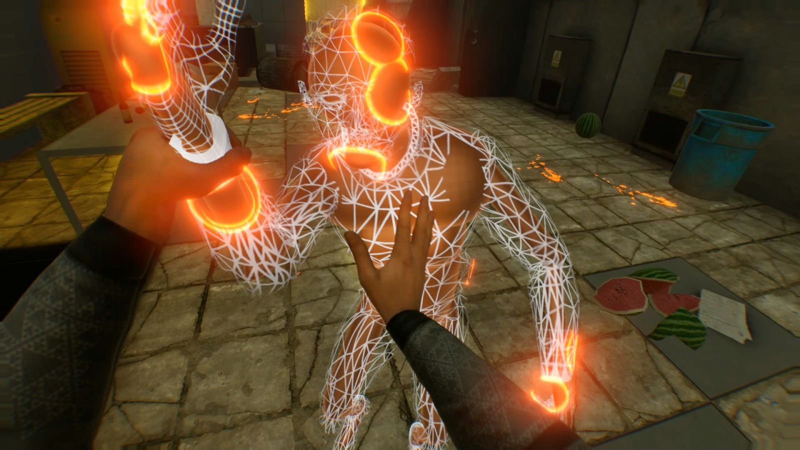 Сюжет VR-игры